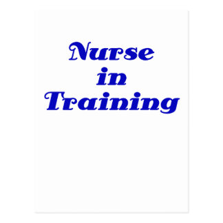 Nurse in Training Postcard