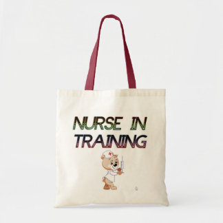 NURSE IN TRAINING TOTE BAG