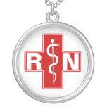 Nurse Initials Necklace