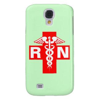 Nurse Initials Scrubs Green Galaxy S4 Cover