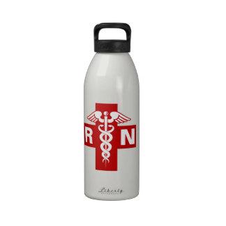 Nurse Initials Reusable Water Bottles