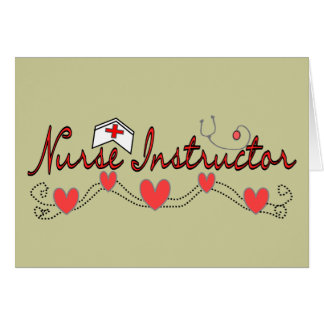 Nurse Instructor Gifts Card