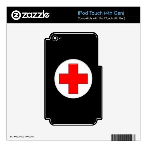 Nurse iPod Touch 4G Skins