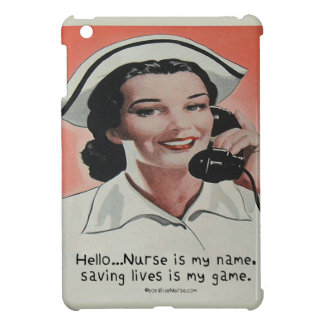 Nurse is my Name Case For The iPad Mini