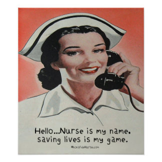 Nurse is my Name Poster