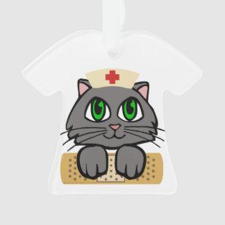 Nurse Kitten Ornament