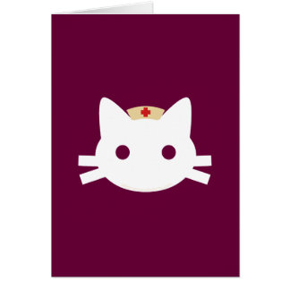 Nurse Kitty Card
