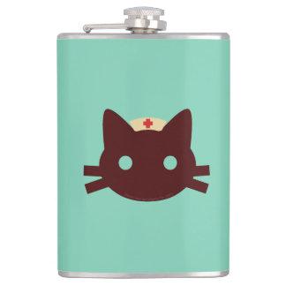Nurse Kitty Flask