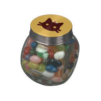 Nurse Kitty Jelly Belly Candy Jar