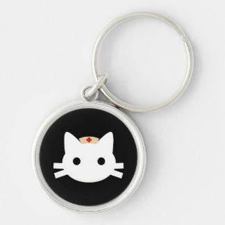 Nurse Kitty Keychain