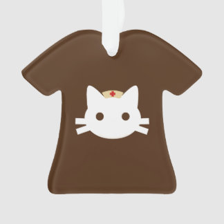 Nurse Kitty Ornament
