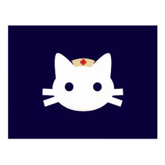 Nurse Kitty Postcard
