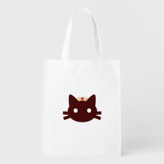 Nurse Kitty Reusable Grocery Bag