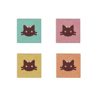 Nurse Kitty Stone Magnet