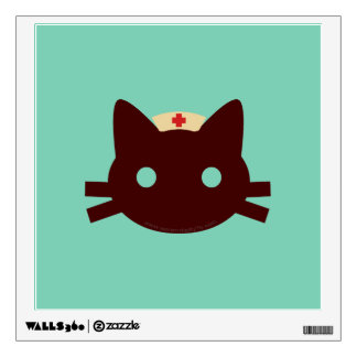 Nurse Kitty Wall Decal