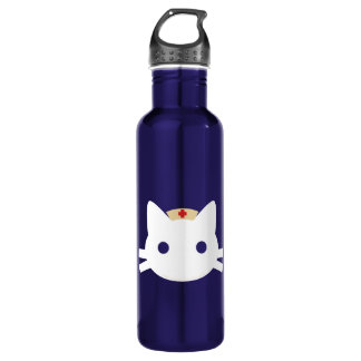 Nurse Kitty Water Bottle