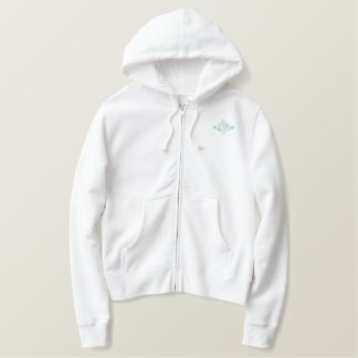Nurse-L.P.N. Monogram Embroidered Hoodie
