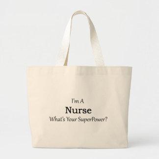 Nurse Large Tote Bag