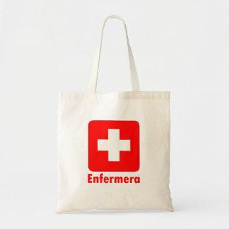 Nurse-Latino Canvas Bags