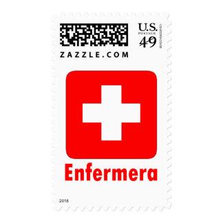 Nurse-Latino Postage Stamp