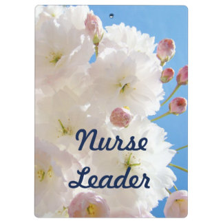 Nurse Leader clipboards custom Nurses Leadership
