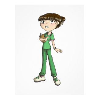Nurse Custom Letterhead