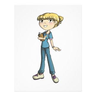 Nurse Personalized Letterhead