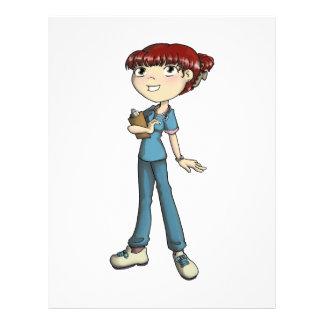 Nurse Letterhead Design