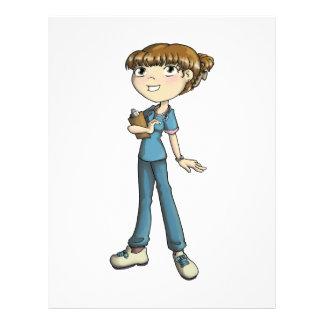 Nurse Customized Letterhead