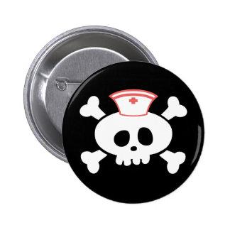 Nurse Lolly Pinback Button