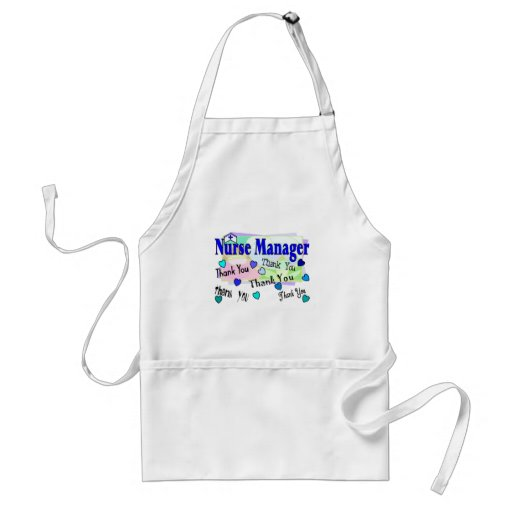Nurse Manager THANK YOU Aprons