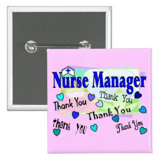 Nurse Manager THANK YOU Buttons