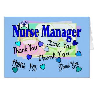Nurse Manager THANK YOU Card