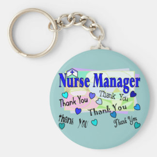 Nurse Manager THANK YOU Keychain