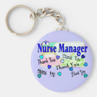 Nurse Manager THANK YOU Keychains