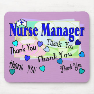 Nurse Manager THANK YOU Mouse Pad