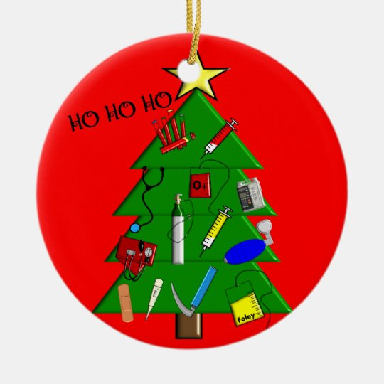 Nurse Medical Christmas Ornament - Nurse Medical Christmas Ornament Zazzle.com
