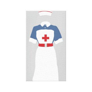 Nurse Medical & Emergency  EMT's Canvas Print