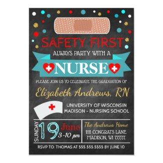 Nurse Medical Graduation / Retirement Invitation