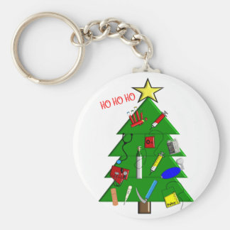 Nurse/Medical Staff Christmas Cards and Gifts Keychain