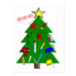 Nurse/Medical Staff Christmas Cards and Gifts Postcard