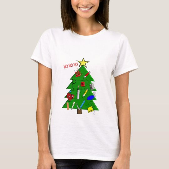 Nurse/Medical Staff Christmas Cards and Gifts T-Shirt