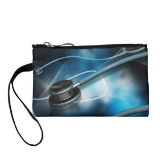 Nurse Medical Stethoscopes Coin Wallet