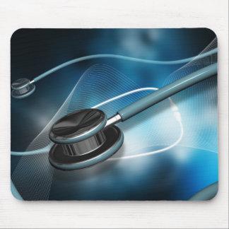Nurse Medical Stethoscopes Mouse Pad