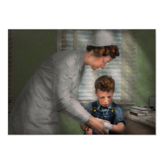 Nurse - Mending spirits 1939 Card
