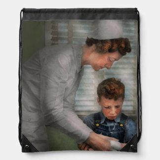 Nurse - Mending spirits 1939 Drawstring Bag