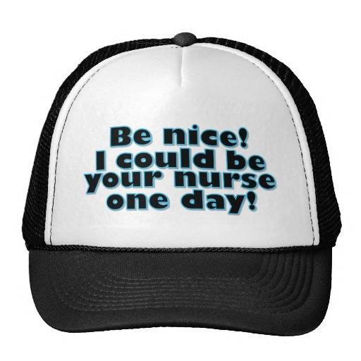 Nurse Mesh Hats