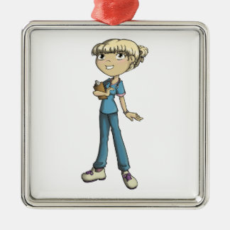 Nurse Metal Ornament