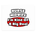 Nurse Midwife .. Big Deal Postcards