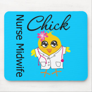 Nurse Midwife Chick v2 Mousepads